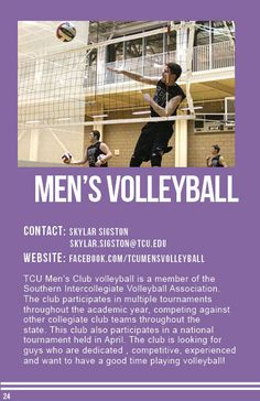 Men's Volleyball Men's Volleyball, Sports Clubs