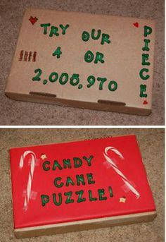 This is a guide about candy cane puzzle gag gift. While putting the candy cane back together may be out of the question the candy bits will still taste great. Gag Gifts Christmas Funny, Christmas Humor, Christmas Stuff, Christmas Craft Fair, Christmas Games, Christmas Ideas, Xmas Games, Christmas Jesus, Christmas Traditions