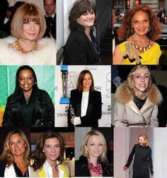 The 10 Most Powerful Women in Fashion - I love these powerful gals!