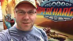 Skylanders SuperChargers Dark Figures In Hand Comic-Con 2015
