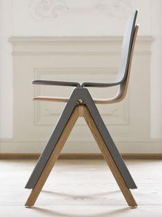 Ronan and Erwan Bouroullec - Design studio Paris Office Furniture Design, Chair Design, Cool Furniture, Stackable Stools, Retail Fixtures, Wicker Chairs, Minimalist Interior, Danish Design, Contemporary Furniture