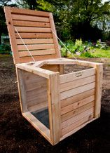 Farmer D Signature Products - Farmer D Organics Cedar Composter #williams-sonoma #agrarian