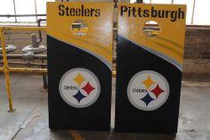 Pittsburgh Steelers Custom Cornhole Game Board