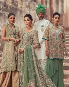 """Saira Shakira on Instagram: """"Saira Shakira Autumn-Winter 2019/2020 Couture! Majestic and flowing masterpieces that illustrate the eternal beauty and grace.…"""" Saira Shakira, Pakistani Couture, Pakistani Designers, Bridesmaid Dresses, Wedding Dresses, Fall Winter, Autumn, Indian Wear, Beautiful Dresses"""