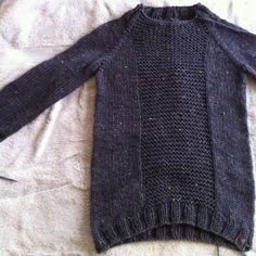 pattern: fisherman's pullover by veera valimaki