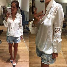 Blusa transpassada linda demais! Com detalhes em gruipir  #moda #modinha #fashion #fashionista #blusa #blusatranspassada #griupir #offwhite #averara #varejo #ecommerce #modaonline #tendencia #novidades #outono #outonoinverno  http://ift.tt/1TeMUHz  by lamourboutiquebc