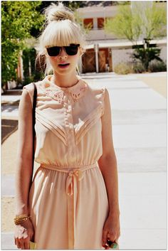 hair | sunglasses | summer dress
