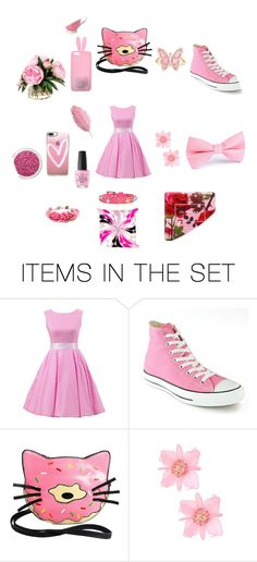 """""""Monochrome Bubble"""" by kbelle28 ❤ liked on Polyvore featuring art"""