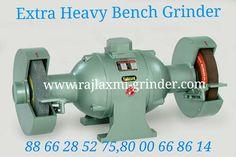 Extra Heavy Duty Four Bearing Grinders – Rajlaxmi Rajkot Bench Grinder, Angle Grinder, Manufacturing Engineering, Grinding Machine, Machine Tools, Pedestal, It Cast, India, Bear