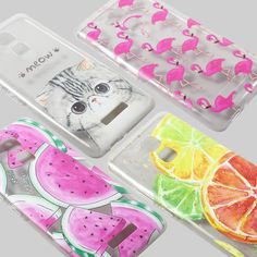 For Asus Zenfone 3 Max ZC520TL TPU Cases Patterned TPU Ultrathin Cellphone Cover for Asus Zenfone 3 Max ZC520TL - Watermelon