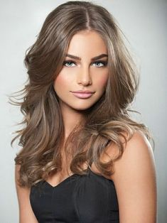 Cute Light Ash Brown Hair Color