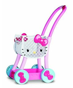 Look at this Hello Kitty Shopping Cart on #zulily today!