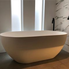 Diva stone bath bath in white Matt. Stone Bath, Diva, Bathtub, Bathroom, Standing Bath, Washroom, Bathtubs, Bath Tube, Full Bath
