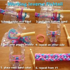 Working inverse fishtail quick guide