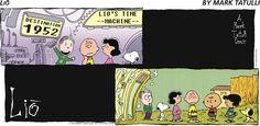 Blast from the past!   Read Lio #comics @ www.gocomics.com/lio/2014/09/14?utm_source=pinterest&utm_medium=socialmarketing&utm_campaign=social-pin-crossover-peanuts65   #GoComics #webcomic #Peanuts #CharlieBrown #Snoopy
