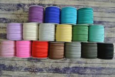 Elastic by the yard! Use to make your own hair ties or headbands.