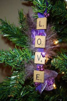 Christmas Time Scrabble :)
