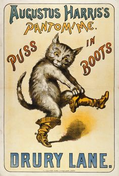 Puss in Boots by Anonymous - British Library Prints