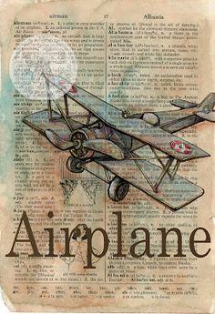 flying shoes art studio: AIRPLANE