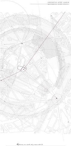 Avance propuesta proyecto vivienda para un diseñador en París. ETSAM