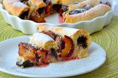 crustycorner: Švestkový kynutý koláč s mákem Pastry Cake, Cheesesteak, Sushi, Sweets, Cooking, Ethnic Recipes, Cakes, Tattoo Studio, Polish