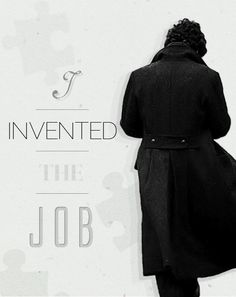 "I love the silhouette. It's so distinctive . . . you could see it from far away and still say, ""That's Sherlock."""
