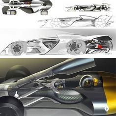 Renault R. S. 2027 Vision Concept official sketches  #cardesign #renault #formula1 #formulaone #2027 #rs #vision #racing #racecar #automotivedesign #transportdesign #vehicledesign #future #sketch #carsketch #designsketch #car #instacar #cardrawing