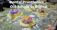 Can making dentures actually be fun? 3d Printing Technology, Change, Digital, Labs, Desserts, Miami, Medical, Smile, Detail