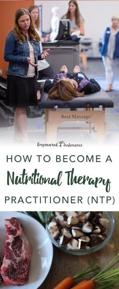 Nutritional therapy practitioner training | Empowered Sustenance