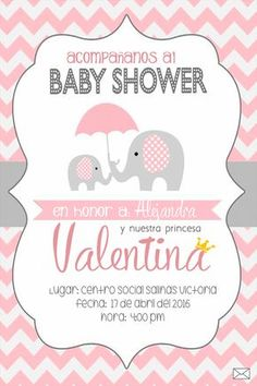 Elephant baby shower invitation elephant baby shower elephant baby pink and grey elephant baby shower ideas filmwisefo
