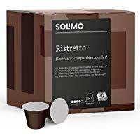 Marca Amazon Solimo Cápsulas Ristretto Alimentacion Bebe Cafetera Nespresso Nespresso
