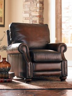 Found It At Joss & Main  Logan Leather Recliner  Livingroom Redo Captivating Living Room Recliners Inspiration Design