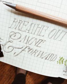 serif & script lettering