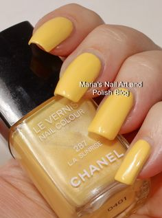 Chanel L.A. Sunrise 287 Robertson Boulevard coll. summer 2008 swatches and a comparison