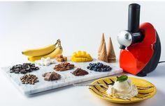 Chef's Star Frozen Fruit Ice Cream, Frozen Yogurt, and Dessert Maker