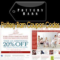 20 pottery barn coupons