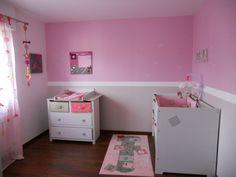 peinture chambre petite fille !