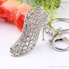 New Creative Valentine Gift Key Crystal Chain High-heeled Shoe Pendant Girl Lady Woman Keyring Romantic Birthday Gift Metal Key Ring Key Chain High Heeled Shoe Key Ring Valentine Gift Online with 3.15/Piece on Annychan29's Store | DHgate.com