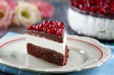 Gránátalmás túró rudi torta (paleo)