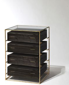 Floating Drawer Dresser, tall, by Codor Design