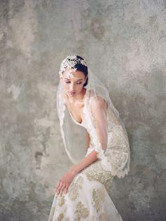 Alchemy Claire Pettibone #wedding #dress #boho #vintage #ethereal #lace