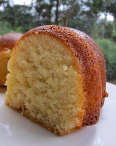 Mom's Lemon (Apricot Nectar) Pound Cake