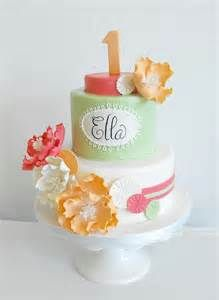@Amy Grubb ~ just because it already has Ella's name on it! 1st birthday girl ideas cake - Bing Images
