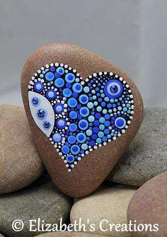 Mandala Rock Art Mandala Stone Painted Rocks Hand