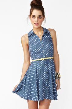 Spot Stop Dress  $70.00