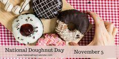 NATIONAL DOUGHNUT DAY - November 5