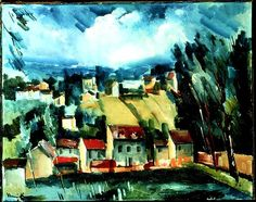 Henri Matisse, Andre Derain, Raoul Dufy, Modern Artists, French Artists, Maurice De Vlaminck, Impressionist Artists, Landscape Paintings, Landscapes