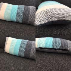 Crochet tunesisk pude