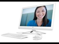 """HP Pavilion 22-b010 V8P25AA#ABA 21.5"""" All-In-One Desktop Quick View"""