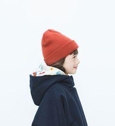 Hooded cape-View all-Coats-Girl (3-14 years)-KIDS   ZARA United States